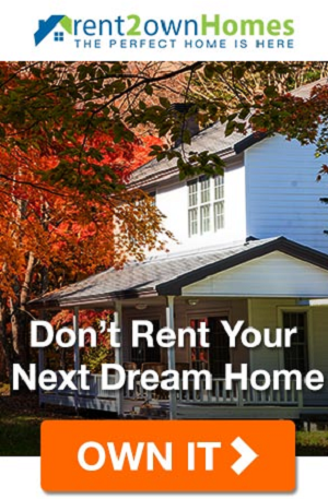Stop Renting, Start Owning! Find Rent to Own Listings in Your Area!